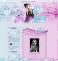 Cara Delevingne Wordpress Theme by littlebutterflyxxx