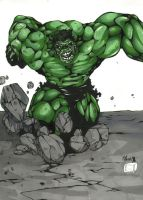 The Hulk by kabukiartist