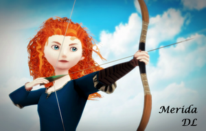 MMD Merida DL by animefancy-mmd