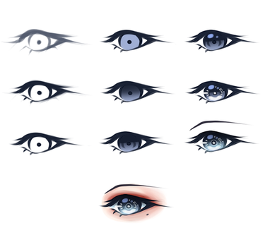 Eye Tutorial by illseraph