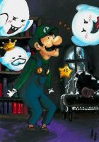 Superduper Luigi by ravenoath