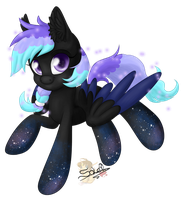 Nebula. Commission for SuperDuperAdoptables by UniSoLeiL