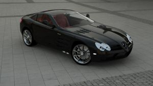Mercedes SLR by vankata