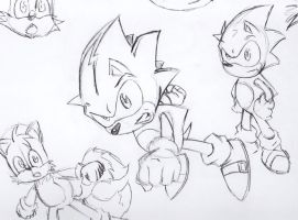 Sonic sketches by jayderange