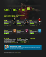 SoccerGraphic Homepage by OmarMootamri