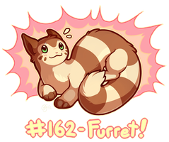 Pokemon #162 - Furret by oddsocket