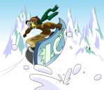Snowboarding by s0s2