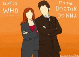 Guess WHO - The Doctor Donna by LetsSaveTheUniverse