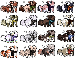 Canine Adopts [CLOSED] by FlaaffysTaffyAdopts