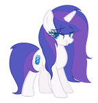 -Debut- Sapphire Quartz {MLP Next Generation} by KatieThePonyArtist