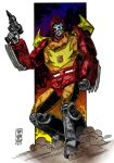 Colours on Stephen Baskerville's Hot Rod by hellbat