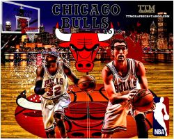 Chicago Bulls by tmarried