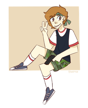 pumped up kicks starts to play by ghostxce