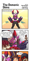 [19GoldLoL] The Demonic Skins by Nestkeeper