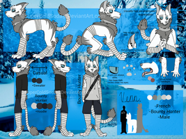 Ref Sheet: Venn by SuperColdSoda