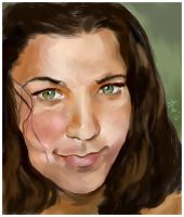 Tonya- Commission Painting by Jodee