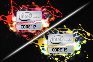 Intel Core i7+i5 Wallpapers by FordGT