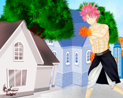 Natsu by HollowKn1ght