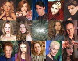 Buffy cast wallpaper by Air-Bourne05