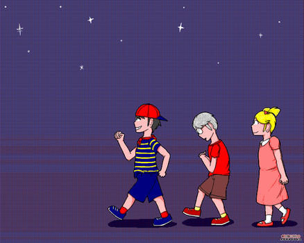 Mother 1 - The kids by MacandBloo101