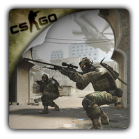 Counter-Strike GO v4 icon by Themx141