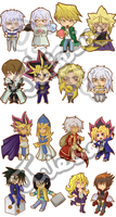 Yugioh charms by Julesie