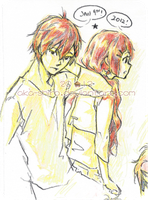 Shion and Shino by Aka-Shiro