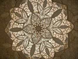Grand Mosque Ceiling by Morethantoday