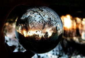 crystal ball sunset 2 by April-Mo