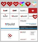 BUILD Corporate Identity Designs by jpbbantigue