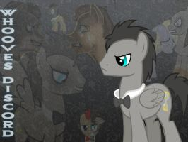 Discord Whooves wall by candi13