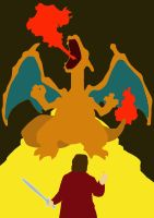 Charizard - King Under The Mountain by chughes14293