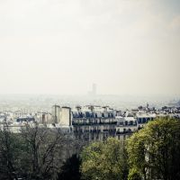 Paris, vue de Montmartre by Alexandre-Bordereau