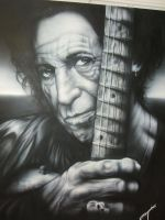 Keith richards by Kitfisto28
