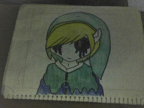 D: Link Draw or he is Ben? by maho-desu