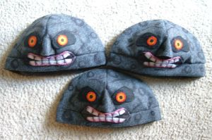 Majora's Moon hat v.2 x3 by Red-Flare