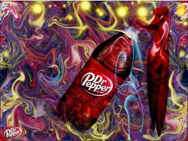 Cold and Bold Dr Pepper by strange-art-gallery