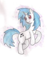 vinyl scratch (tradicional) by shinkuma