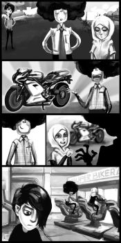 Noobsterz Comic Strip by afique