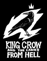 King Crow new T-Shirt by LunglessArt