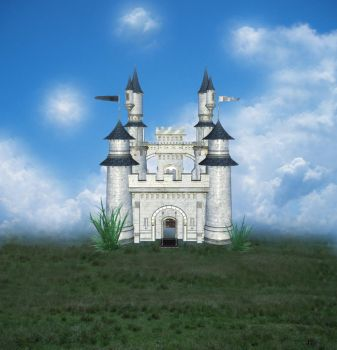 Castle Stock Background by PVS by pixievamp-stock