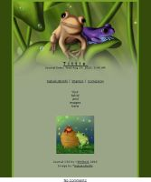 Journal skin - Frogs after rain [instalator] by ShiStock