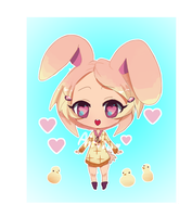 [Open] Loving Easter Bunny adopt auction by Airiiu