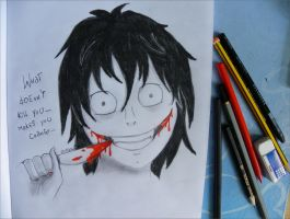 Jeff the killer by xShadowArt
