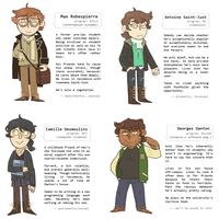 modern french rev profiles by snarbolax