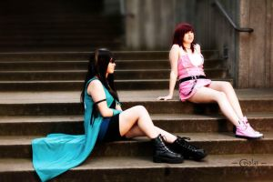Just Hanging Out by MermaidSushiCosplay