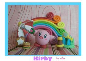 Kirby poylmer clay by ananetoneko