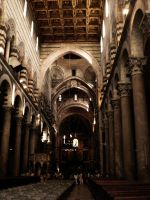 Inside The Cathedral Of Pisa by ErinM2000