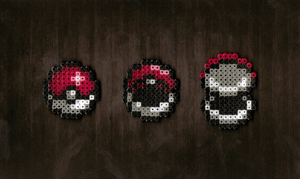 Hama Pokeball Opening Sequence by Retr8bit