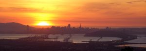 San Francisco Sunset 1 by KARCEN